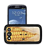 Luxlady Premium Samsung Galaxy S3 Aluminum Backplate Bumper Snap Case IMAGE ID 21431263 socket with corn concept for alternative source of energy
