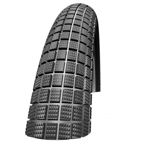 SCHWALBE BMX Reifen Crazy Bob 20 x 2,10 Zoll (Ausführung: 20 x 2.10 Zoll (54-406) schwarz)