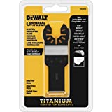 DEWALT Oscillating Tool Blade, Titanium, Metal Cutting (DWA4209) (Color: Black)
