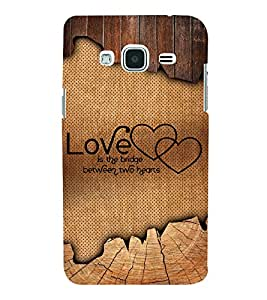 Love Quote 3D Hard Polycarbonate Designer Back Case Cover for Samsung Galaxy J3 (6) J320F :: Samsung Galaxy J3 (2016)