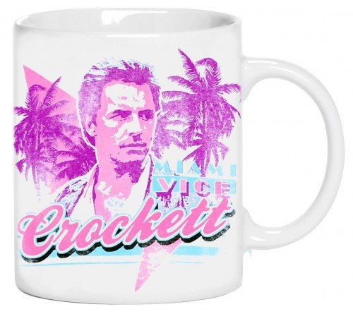 Miami Vice Sonny Crockett Don Johnson Mug - Ideal Gift