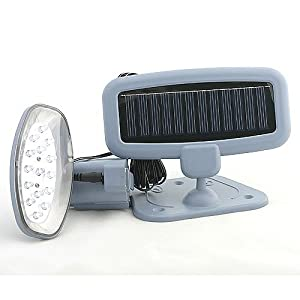 Click to buy LED Outdoor Lighting: Solar Powered 15 LED Security Light and Motion Detector from Amazon!