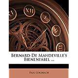 Bernard De Mandeville's Bienenfabel ...