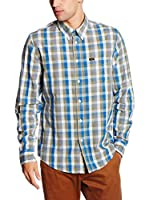 Lee Camisa Hombre Button Down (Verde)