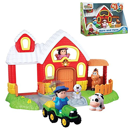 Barn & Farm Activity Playset