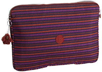Kipling Digi Sleeve, Unisex-Adults' Laptop Bag, Waterfall Print, One Size from Kipling