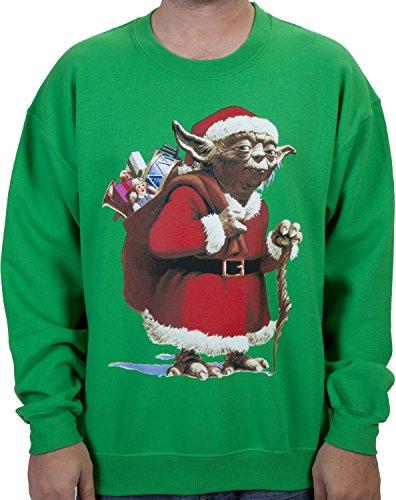 Yoda Santa Claus Sweatshirt (Large)