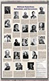 American Educational African-American Scientists and Inventors Historical Poster by American Packing & Gasket