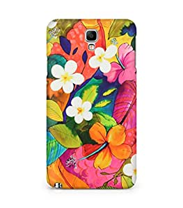 Amez designer printed 3d premium high quality back case cover for Samsung Galaxy Note 3 Neo (Painting Flowers)