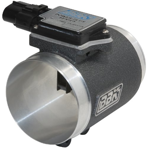BBK 8002 76mm Mass Air Flow Meter MAF Sensor Calibrated For 19 lb Injectors, Cold Air Kit Calibration for Ford Mustang 5.0L