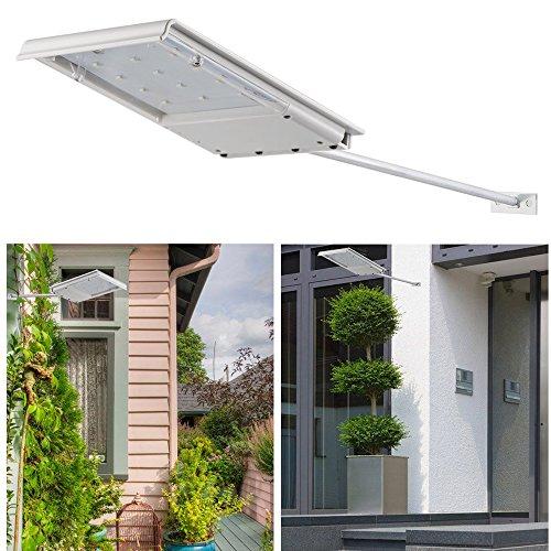 LEAGY Waterproof Solar Powered LED Lights Security Night Light Lighting Outoo