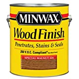 Minwax 710760000 Wood Finish - Penetrates, Stains & Seals, 250 VOC, gallon, Special Walnut (Color: Special Walnut, Tamaño: 250 VOC)