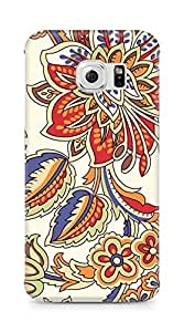 Amez designer printed 3d premium high quality back case cover for Samsung Galaxy S6 Edge (Pattern 1)