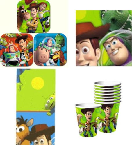 Toy Story 3 Party Pack Supplies for 16 guests