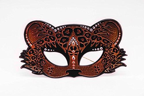 Elope Leopard Sequin Mask