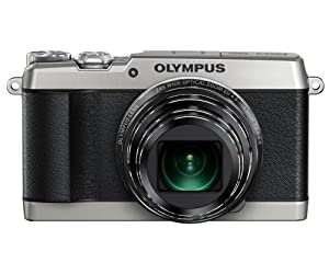Olympus SH-1 Digitalkamera (16 Megapixel CMOS-Sensor, 24-fach opt. Zoom, 5-Achsen Bildstabilisator, WiFi, Full-HD Video) silber