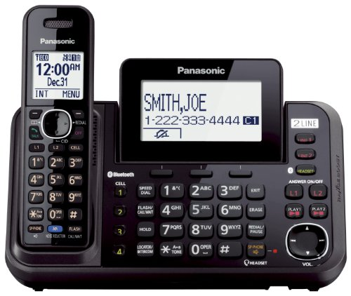 "Panasonic Consumer - ""2 Line Cordless, Link To Cell, Usb"""