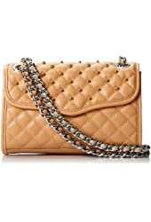 Rebecca Minkoff Mini Quilted Affair Crossbody with Enamel Studs
