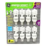 2 x GE 13-Watt Energy SmartTM - 8 Pack - 60 watt replacement