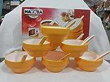Nayasa Microfresh Step Bowl Set Of 12Pcs
