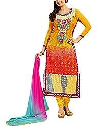 Narayan Fashion Yellow And Red Top
