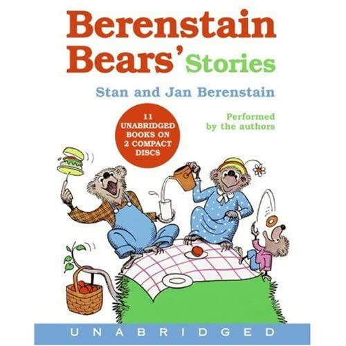 Berenstain Bear's Stories CD
