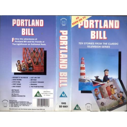 Amazon.com: Portland Bill [VHS]: Norman Rossington, John