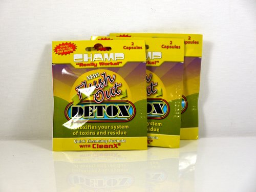 3 Bags of Champ Detox Clean X2 Formula