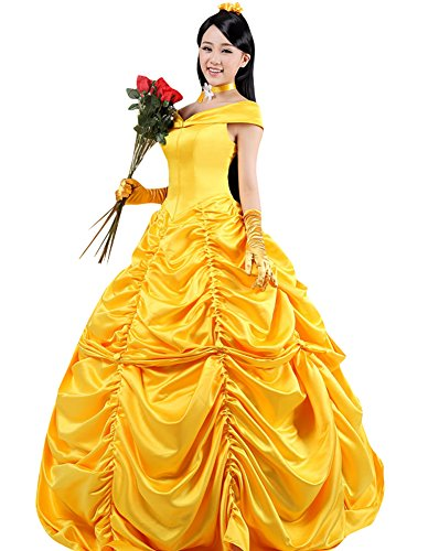 Ace Halloween Adult Women's Beauty and the Beast Belle Costumes