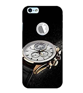 EPICCASE times now Mobile Back Case Cover For Apple iPhone 6, 6S Logo Cut (Designer Case)