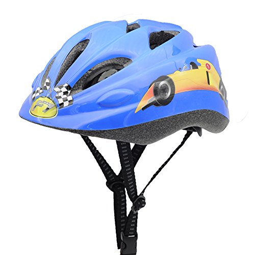 BeBeFun-Safety-Adjustable-children-and-Kids-Helmet-with-Elbow-Knee-and-Wrist-Pads-for-Boy-and-Girl-Skate-Scooter-and-Bike-Riding-Multi-Sports-Lovely-Helmet-Age-3-7-Years
