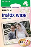 Fujifilm Instax Wide Wedding Twin Pack Instax Instant Film (White)