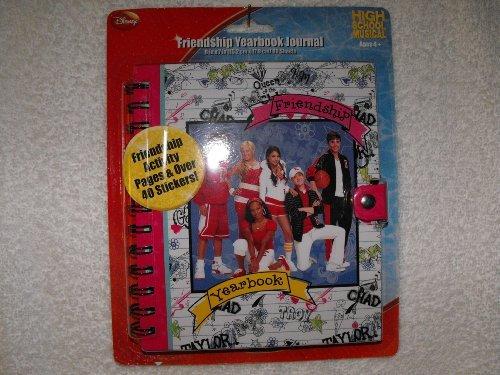 High School Musical Friendship Yearbook Journal