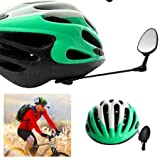 Life On Bicycle 360 Degree Adjustable Rearview Bicycle Helmet Mirror