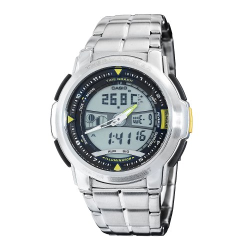 Casio Men's AQF100WD-9BV Forester Sports Thermometer Watch