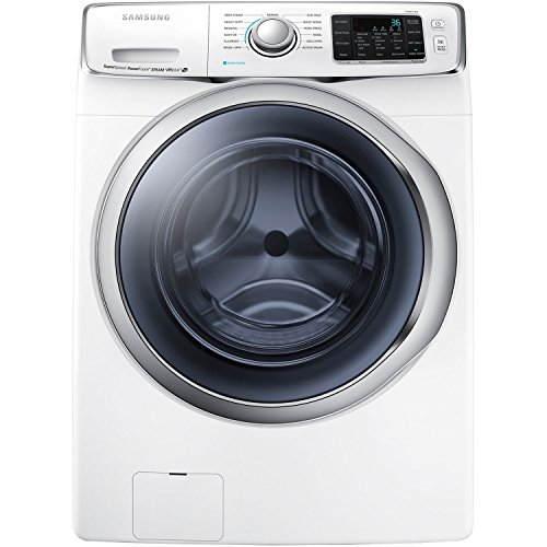 Samsung WF45H6300AW Energy Star 4.5 Cu. Ft. Front-Load Steam Washer with PowerFoam Technology, White