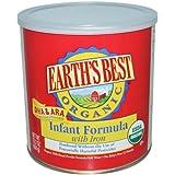 Earths Best Organic Infant Formula DHA & ARA with Iron, 23.2 oz