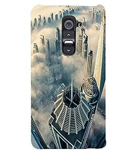 PRINTSWAG SKY VIEW Designer Back Cover Case for LG G2