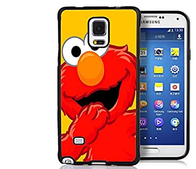 Samsung Galaxy Note 4 Case, Personalized Elmo Muppet Ultra Thin Rubber Bumper Hard Back Cover Case for Samsung Galaxy Note 4