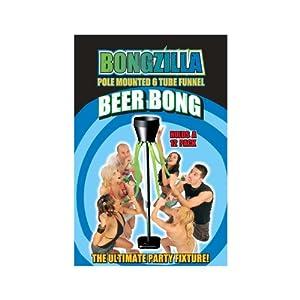 Bongzilla Beer Bong with 6 Tubes