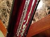 Silver Yamaha YFL-481II 925 Flute open hole, b foot