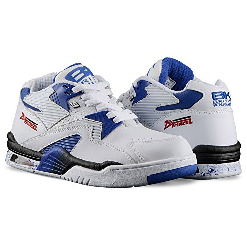 British Knights: Control Mid White Royal Blue Black Sneaker (12)