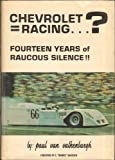 img - for Chevrolet = Racing...? book / textbook / text book