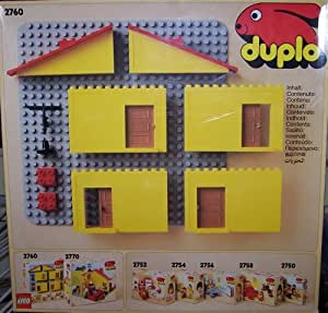 lego 2760 lego duplo haus spielzeug. Black Bedroom Furniture Sets. Home Design Ideas