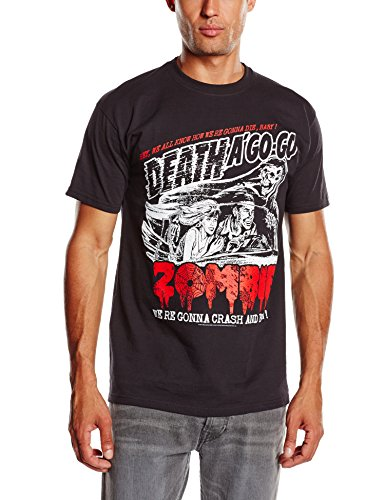 Rob Zombie - Zombie Crash, T-shirt da uomo, nero (black), 2XL