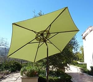 Aluminum Market Umbrella Crank Tilt