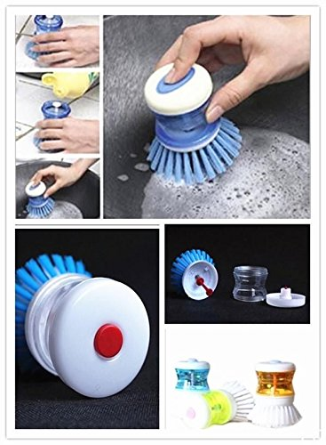 Kitchen Wash Tool Pot Pan Dish Bowl Palm Brush Scrubber Cleaning Cleaner