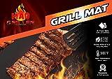 Mad Griller BBQ Grill Mat, Heavy Duty Nonstick, Reuseble, PFOA...