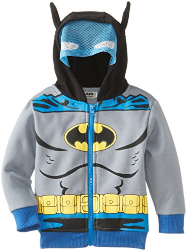 CAN DC Comics Baby Little Boys' Batman Fleece Masked Hoodie at Gotham City Store