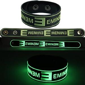 Amazon.com: Eminem New Bracelet Wristband Gg5 Glow In The